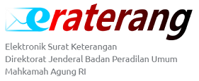 Elektronik Surat Keterangan Direktorat Jenderal Badan Peradilan Umum